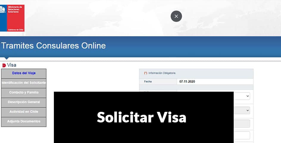 solicitar visa